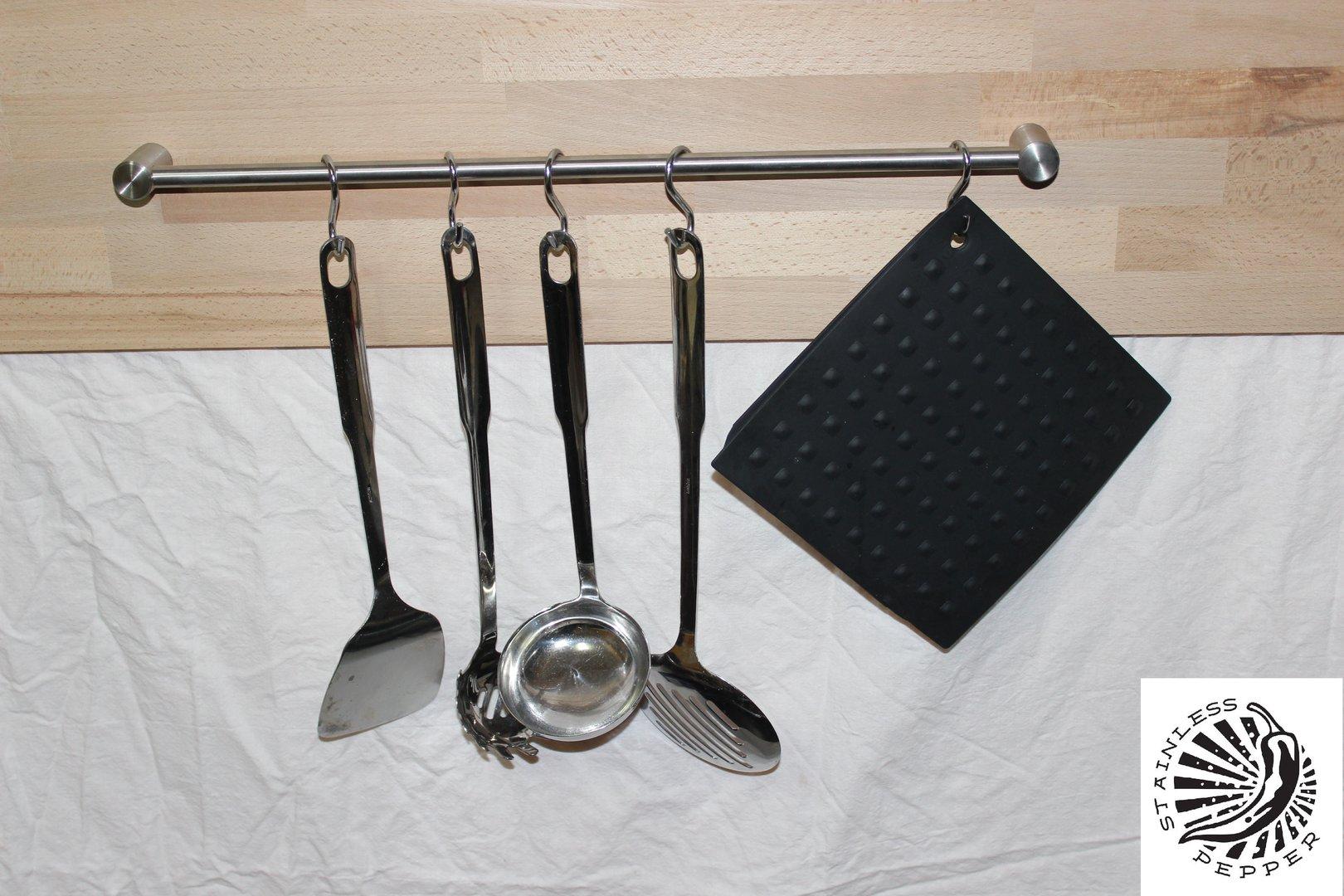 Halterung Für Kochlöffel Kochutensilien Wandabstand 30mm